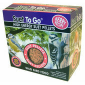 Suet To Go High Energy Suet Pellets With Berry Wild Bird Food 3kg