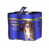 4 x 1200g Butcher's Chicken & Tripe Wet Dog Food Variety Pack