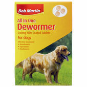 Bob Martin Med & Large Dog All In One Wormer 3 Tablets