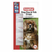 Beaphar Small Dog Flea Drops Spot On 12 Week Protection