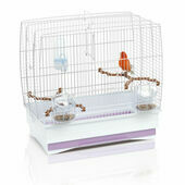 Imac Irene 2 White Small Bird Cage