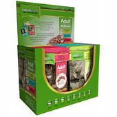 12 x Natures Menu Adult Cat Adult Food Pouch Multipack 100g