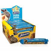 28 x Johnson's Treat2eat Rabbit & Guinea Pig Fruity Sticks 45g