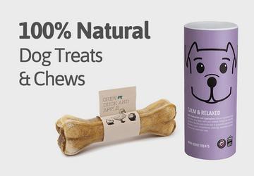 natural dog treats banner