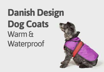 Danish design dog coats