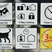Cat Mate Elite Selective Microchip Cat Flap With Timer Control additional 3