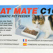Cat Mate C10 Single Meal 205C Automatic Cat Feeder additional 2