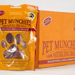 16 x Mix & Match Pet Munchies 100% Natural Dog Treats Pouch additional 2