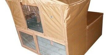 Covers & Weather Shields For Your Rabbit Hutch