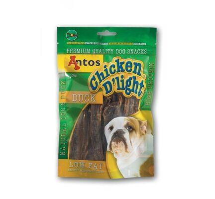 10 x Antos Chicken D\'light Duck 100g