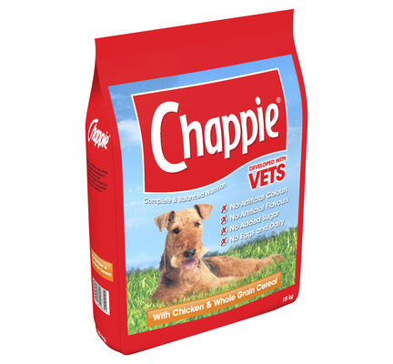 Chappie Complete Chicken And Wholegrain Cereal Dry Dog Food