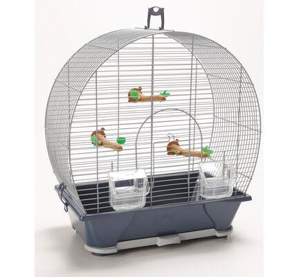 Savic Evelyne 30 Bird Cage Silver 43x28x47cm