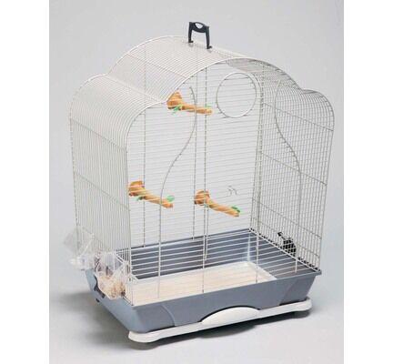 Savic Isabelle 40 Bird Cage Silver 47.5x32.5x60cm