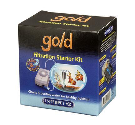 Interpet Goldfish Bowl Filter Starter Pack