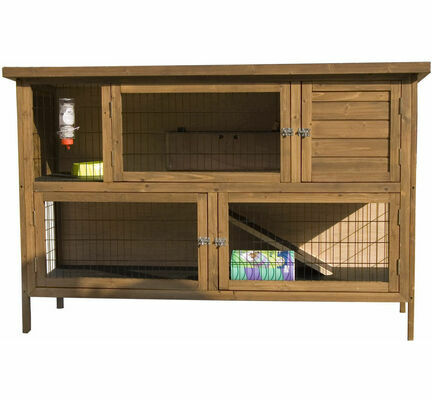 Sharples 'N' Grant Hutch 'n' Down Double Extra Large 5 Foot Rabbit / Guinea Pig Hutch