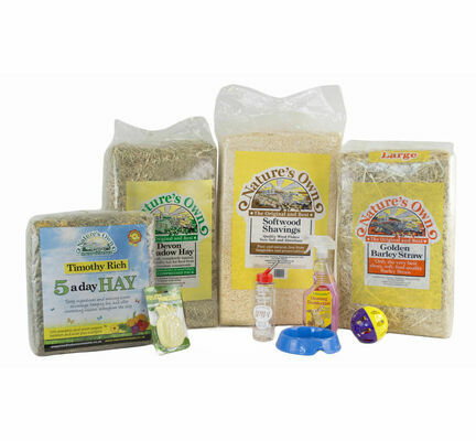 The Pet Express Rabbit Starter Kit Without Hutch