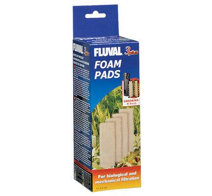 Fluval 3 Plus Replacement Foam Insert 4pack