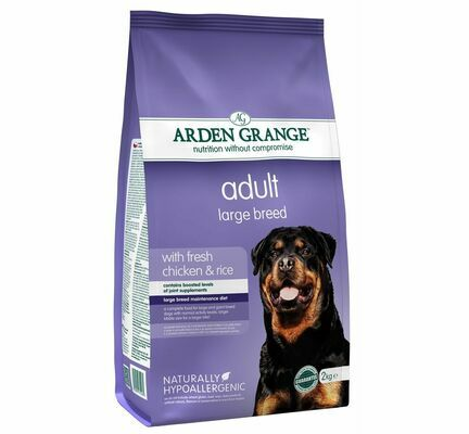 Arden Grange Adult Large Breed Fresh Chicken & Rice Dry Dog Food