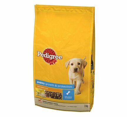 Pedigree Complete Growth & Protection Chicken & Rice Puppy Food