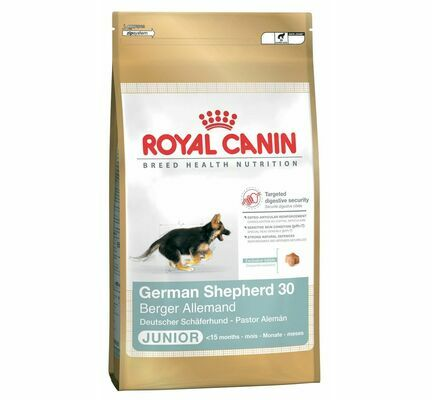 Royal Canin German Shepherd 30 Dry Puppy (Junior Dog) Food
