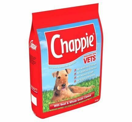 Chappie Beef & Wholegrain Cereal Adult Dog Food