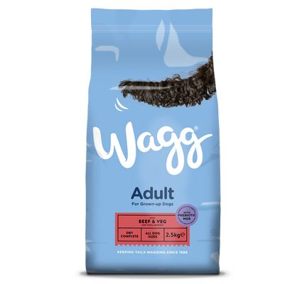 Wagg Adult Dog Food - Beef & Vegetable