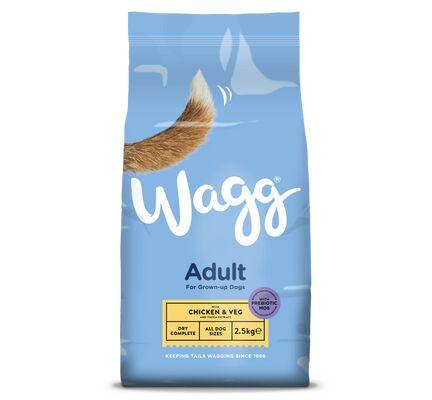 Wagg Adult Dog Food - Chicken & Veg