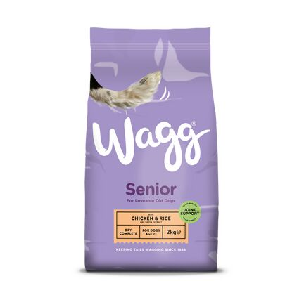 Wagg Complete Senior Chicken & Rice Dog Food