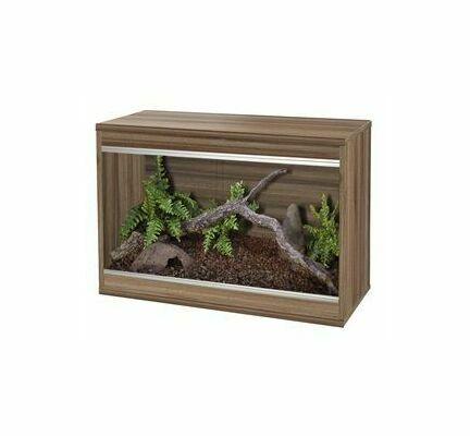 Vivexotic Repti-Home Small Vivarium - Walnut