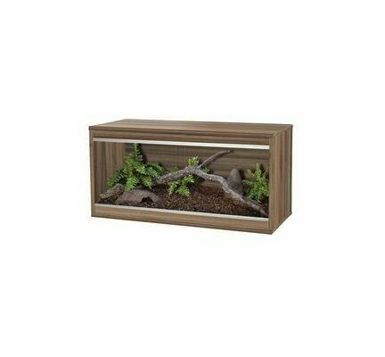 Vivexotic Repti-Home Medium Vivarium - Walnut