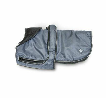 Danish Design Luxury Dusty Blue Waterproof Dog Coat