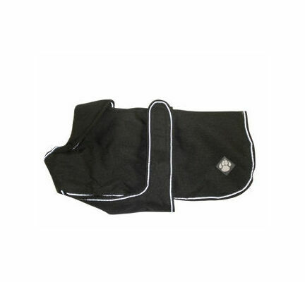 Danish Design Luxury Black Waterproof Dog Coat