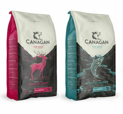 2 x 12kg Canagan Salmon & Game Grain Free Dry Dog Food Multibuy