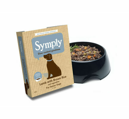 7 x 395g Symply Lamb With Brown Rice & Veg Senior Dog Food
