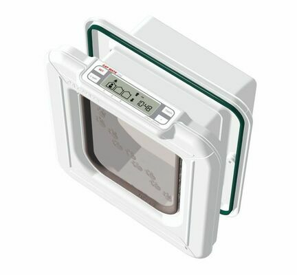 Cat Mate Elite Selective Microchip Cat Flap With Timer Control