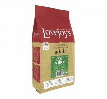 Lovejoys Adult Lamb & Rice Dry Dog Food