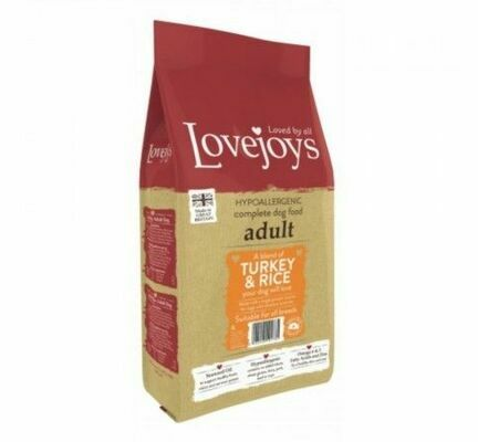 Lovejoys Adult Turkey & Rice Dry Dog Food