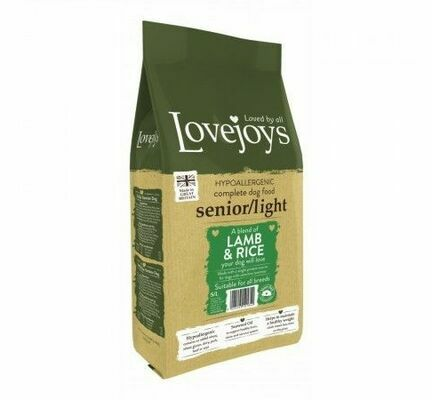 Lovejoys Senior/Light Lamb & Rice Dry Dog Food