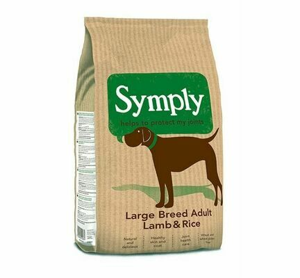 Symply Large Breed Adult Lamb & Rice Dry Dog Food
