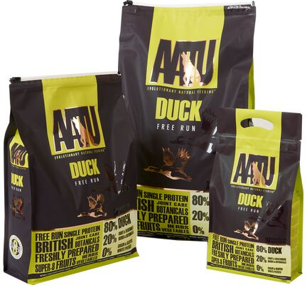 AATU 80/20 Duck Dry Dog Food - Various Sizes