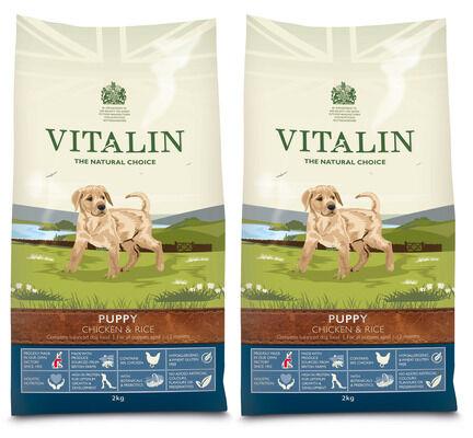 Vitalin Multi Buy Chicken & Rice Dry Puppy Food - 2 x 12kg