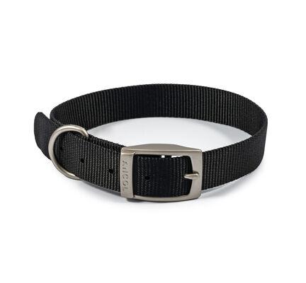 Ancol Viva Nylon Collar Black