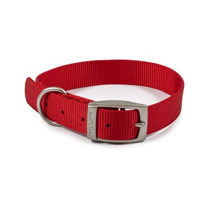 Ancol Viva Nylon Collar Red