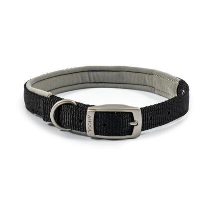 Ancol Viva Nylon Padded Collar Black