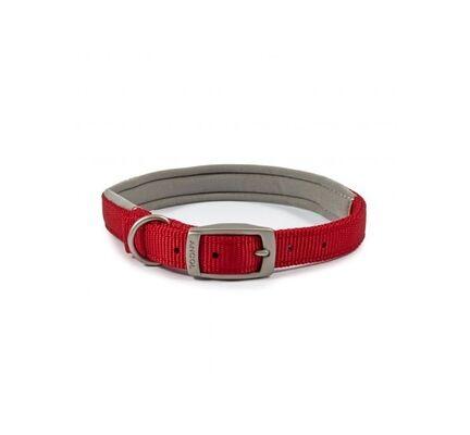Ancol Viva Nylon Padded Collar Red
