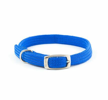 Ancol Heritage Nylon Softweave Collar Blue