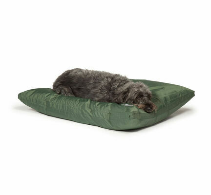 Danish Design County Waterproof Green Deep Duvet Dog Bed