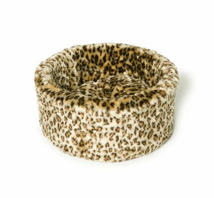Danish Design Luxury Leopard Cat Snuggle Bed