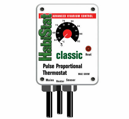 Habistat Pulse Proportional Thermostat 600w White