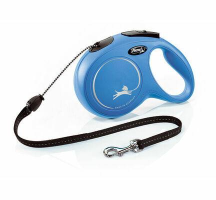 Flexi New Classic Retractable Cord Lead Blue